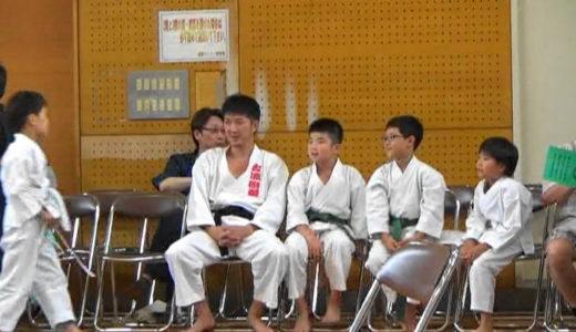 丸亀道場の子供達4人は大会でものすごく頑張りました