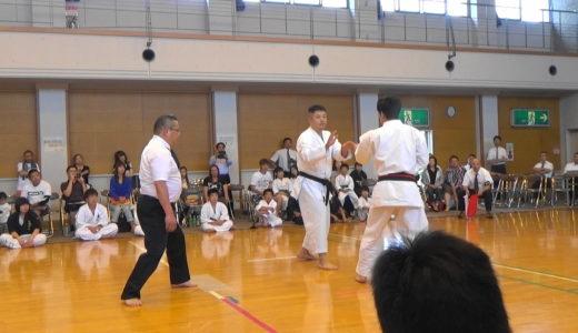 全日本古流空手道選手権大会一般女子男子有段と決勝戦等