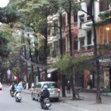ベトナムハノイの町並み