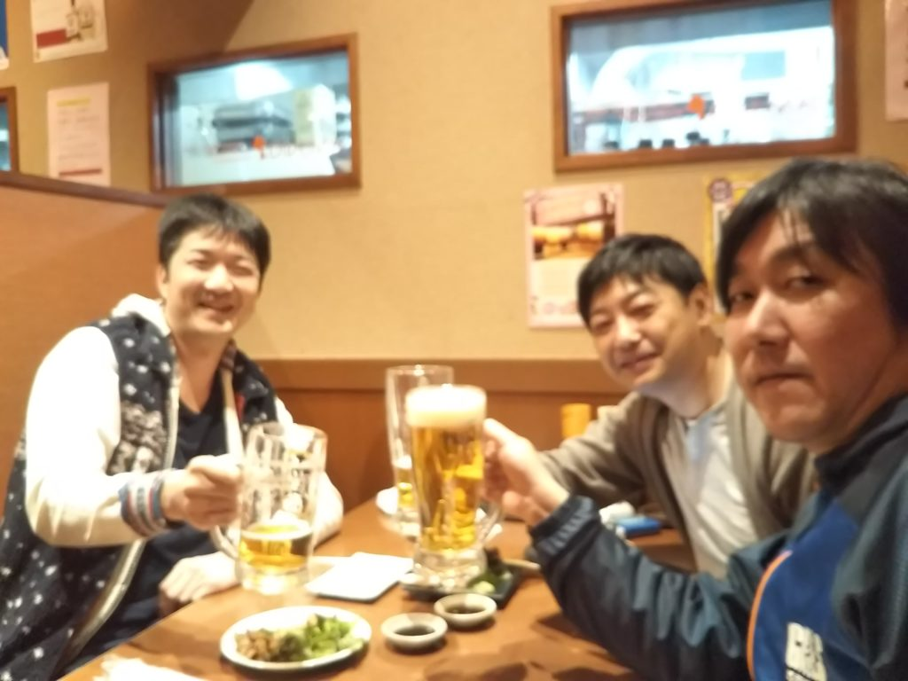 丸亀市のおいでまいで友達と飲む