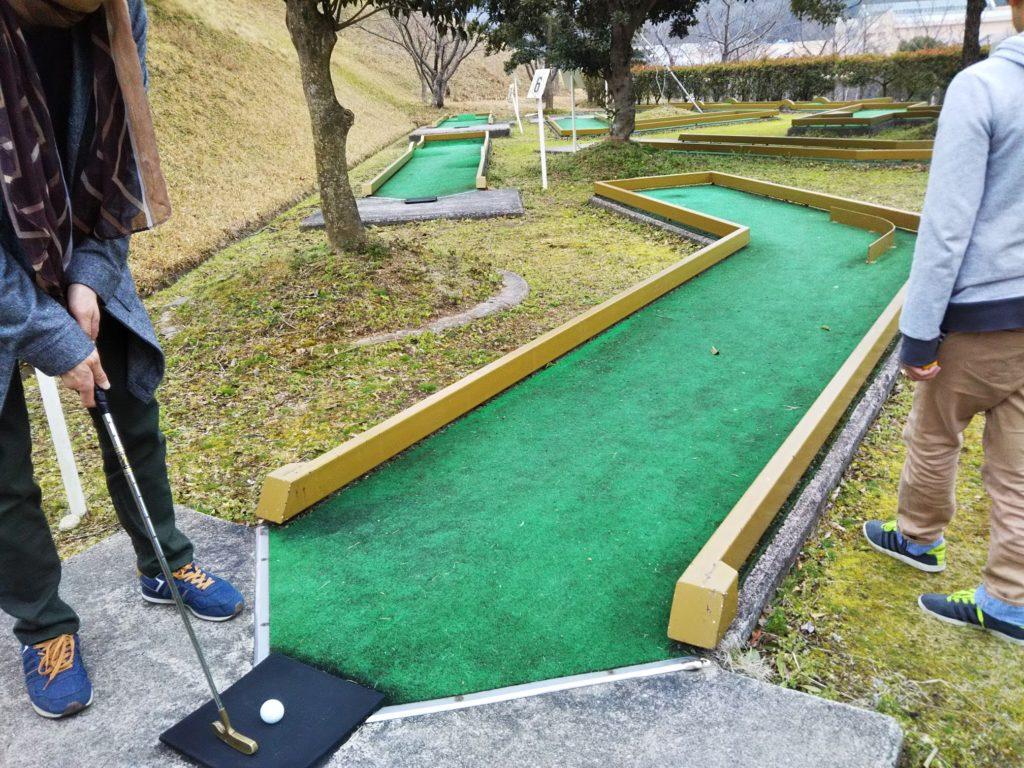 長尾総合公園パターゴルフ