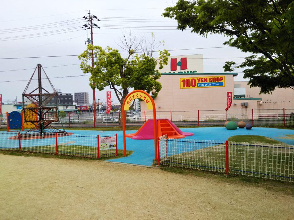 小さい子供が遊べるスペース
