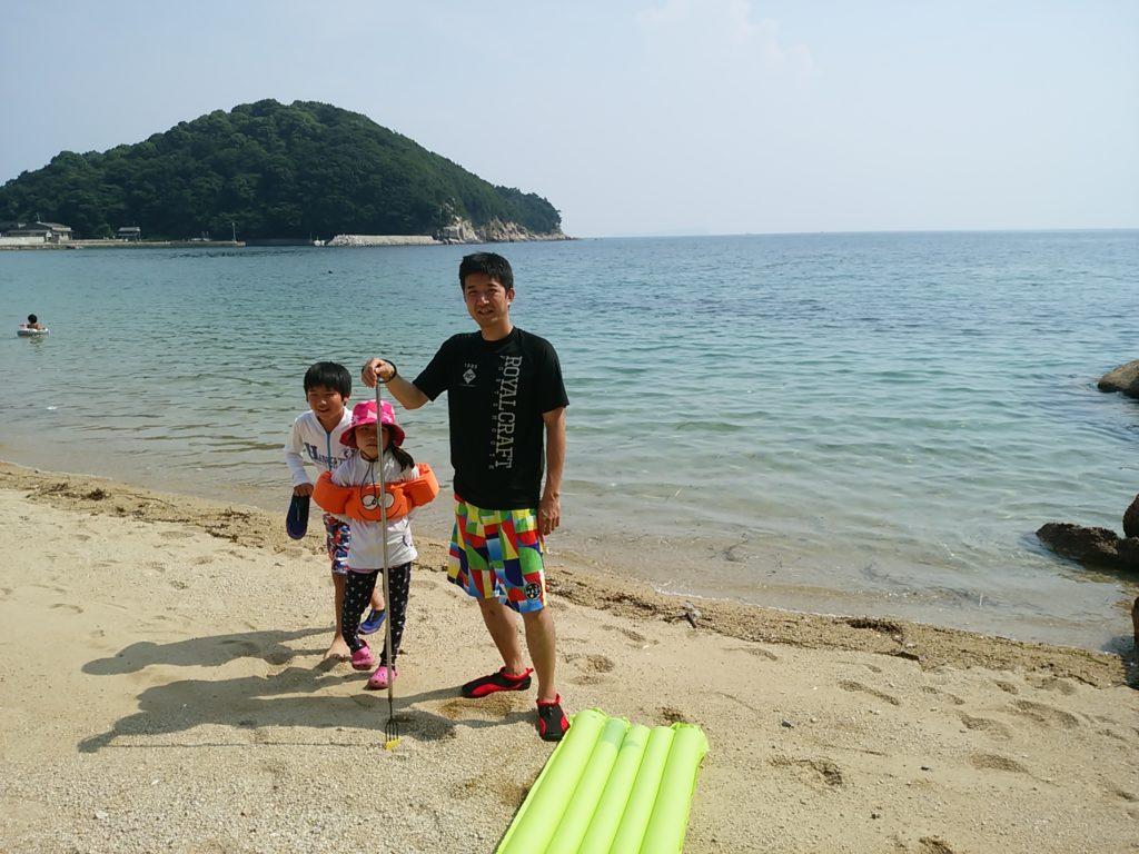三豊市仁老浜海水浴場