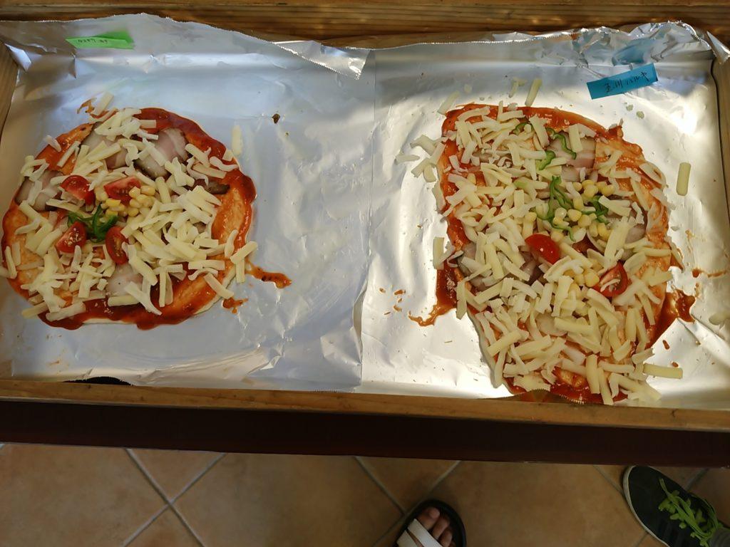 プルミエピザ作り