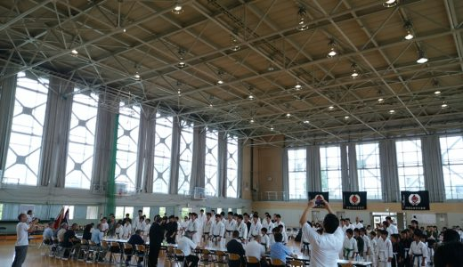 全日本古流空手道選手権大会子供の部