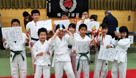 第1回全日本古流剛柔空手道選手権大会 銭形杯は盛り上がりました