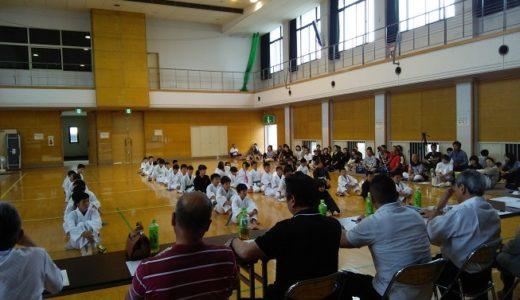 三木町の昇級昇段審査に子供9名大人1名が挑戦