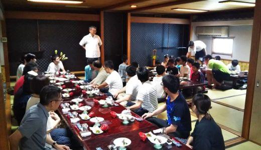 丸亀道場の2019年夏の納会が弁慶で開催