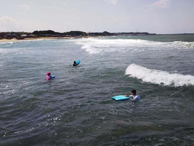 八橋海水浴場ボディボード