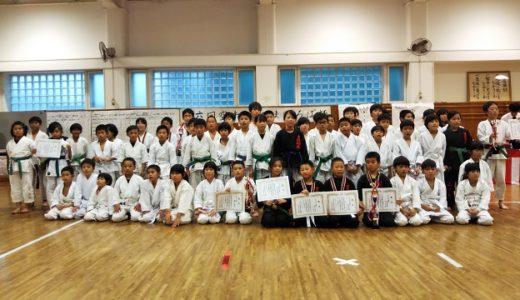第6回空手キッズまほろば杯奈良県は丸亀道場が高学年の部優勝