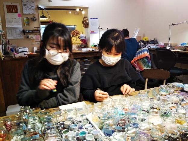 azovii jewelryイヤリング作り